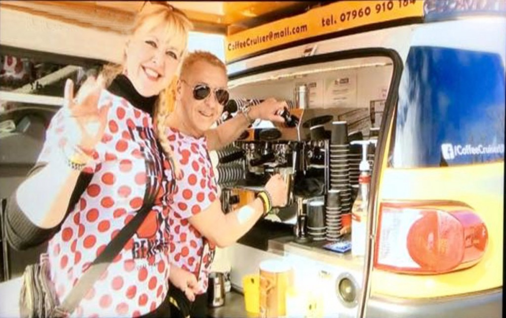 mobile coffe van in southampton hampshire